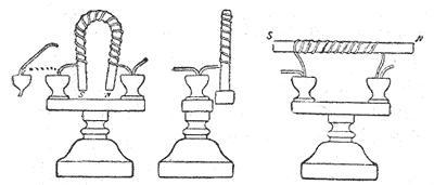 Устройство первого электромагнита